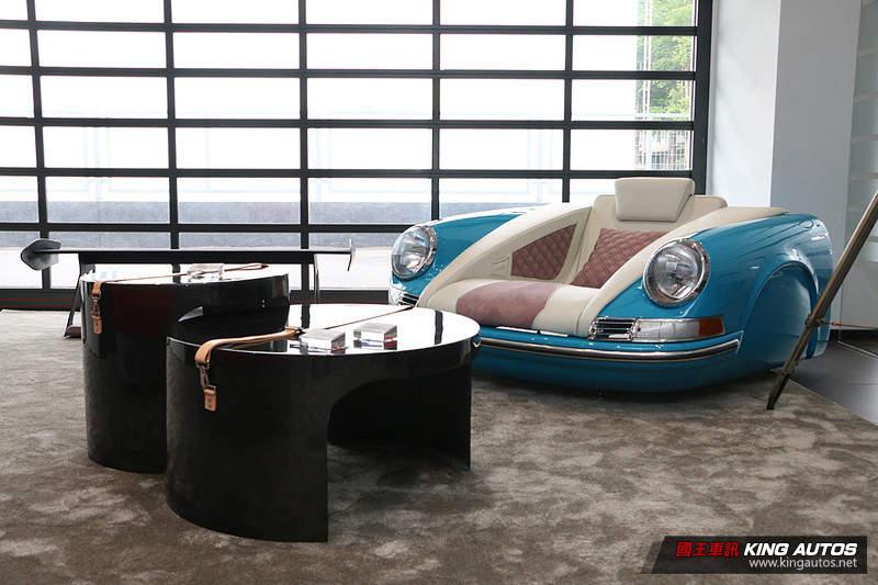 宅宅新闻 | 让经典《Porsche》更有温度 《Mobellio》客製化家具现身保时捷新北展示中心