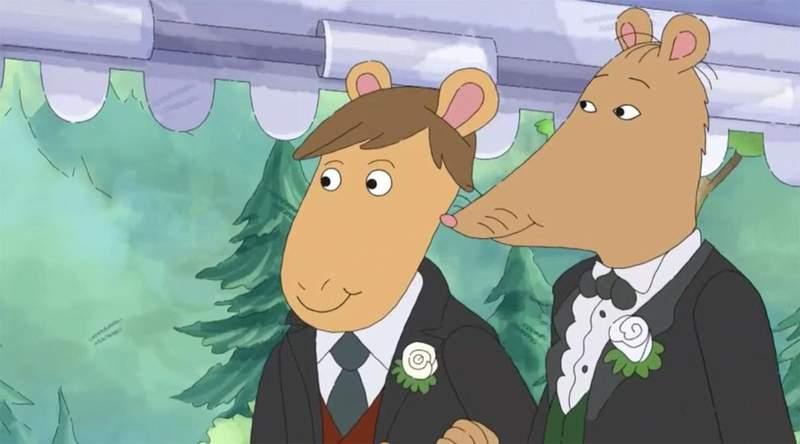 美国经典卡通《亚瑟小子》因出现「同性婚礼」遭禁播起争议,电视台:我们一直深受家长信赖   宅宅新闻