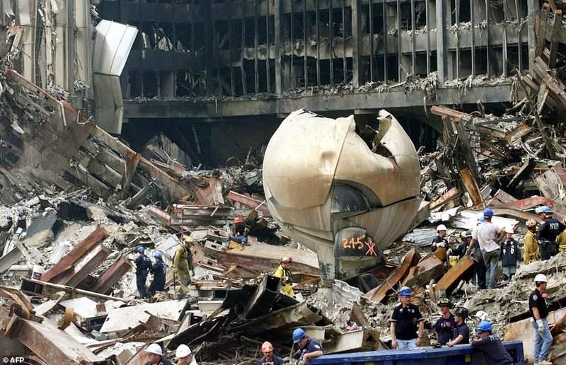 《911 18周年》今昔对比图 那一天仍然让人记忆犹新