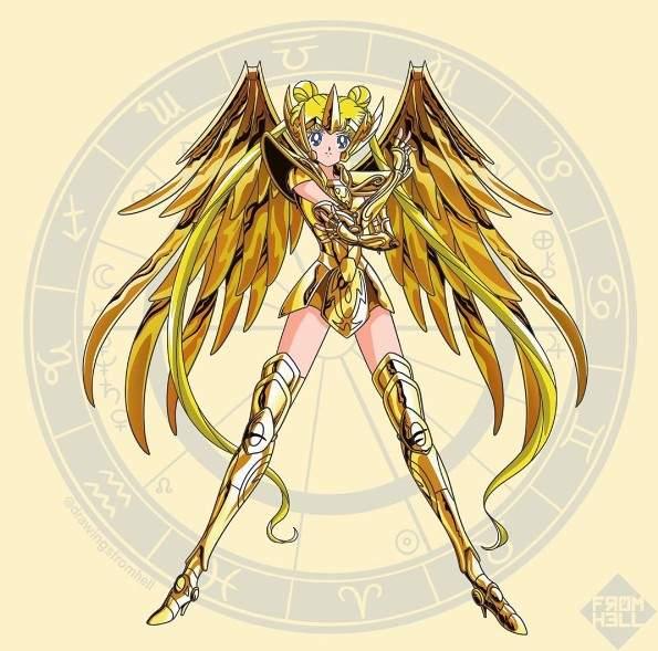 小宇宙爆发《黄金圣衣版美少女战士》女力UP镇守十二宫的重责大任就交给我们惹