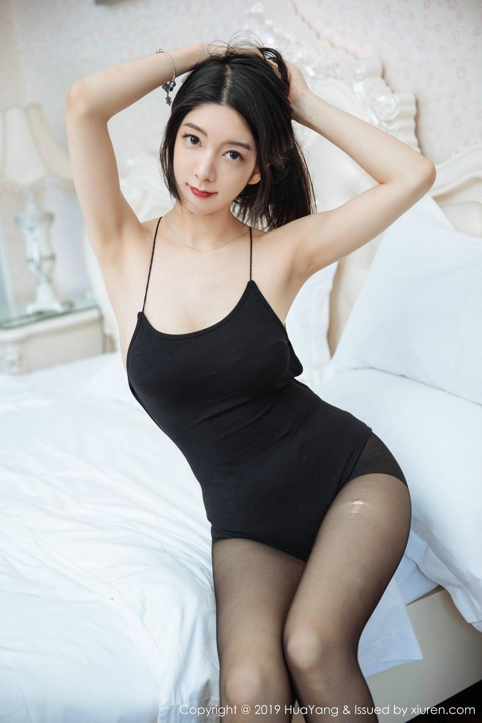女神Angela喜欢猫私房黑丝裤袜+白色蕾丝女仆装诱惑无圣光写真47P